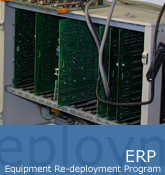 Equipment Re-deployment  Program (ERP)