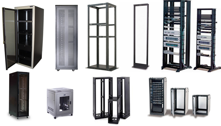 Enclosures, Cabinets and Racks